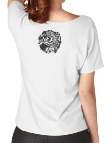A whole new world - Back Black Women's Relaxed Fit T-Shirt