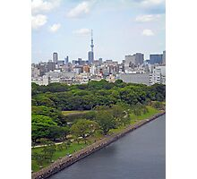 View from Tokyo Bay Photographic Print