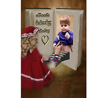 BOOKS CAN HAVE A HAPPY ENDING KIDS IPHONE CASE by ✿✿ Bonita ✿✿ ђєℓℓσ