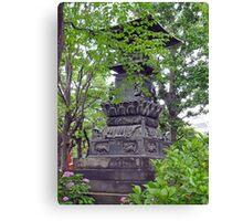 Asakusa Statuary Canvas Print