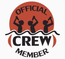 Official Beach Crew Member by Style-O-Mat