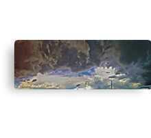 ©HCS Clouds Like War HDR Canvas Print