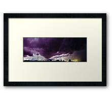 ©HCS Storm Cell In Panoramic 120613 Framed Print