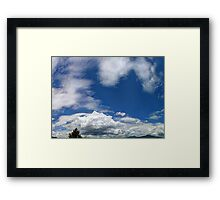 ©HCS Mad About Blue Framed Print
