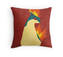 Quilava Throw Pillow