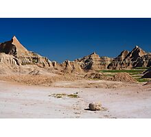 Badlands National Park from the Fossil Trail Photographic Print