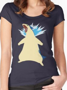 Blue Flame 157 Women's Fitted Scoop T-Shirt