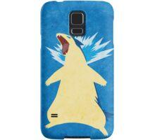 Blue Flame Typhlosion Samsung Galaxy Case/Skin