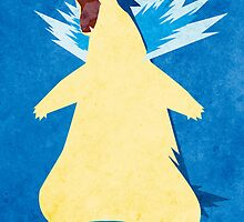 Blue Flame Typhlosion by jehuty23