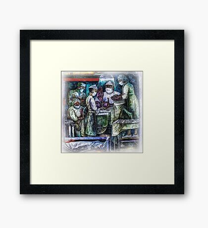 ©DA Mural Paintography Textured Framed Print