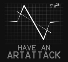 ArtAttack Monitor (White) by owlet57