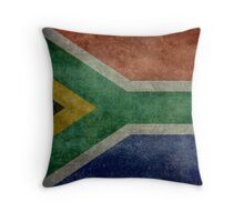 National flag of the Republic of South Africa Throw Pillow
