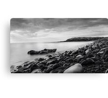 Seascape Black & White Canvas Print