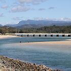 Tallebudgera Creek Entrance & Bridge by aussiebushstick