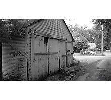 decaying Photographic Print