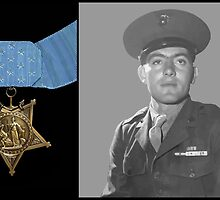 John Basilone and The Medal of Honor  by warishellstore