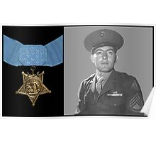 John Basilone and The Medal of Honor  Poster