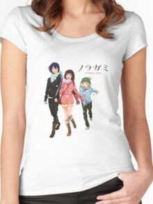 Noragami - Together Till' the End Women's Fitted Scoop T-Shirt
