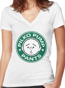 Pilko Pump Pants - Pilkington Women's Fitted V-Neck T-Shirt