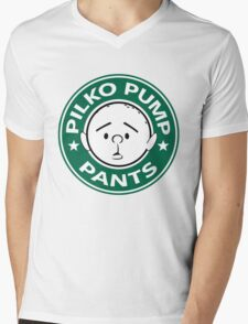 Pilko Pump Pants - Pilkington Mens V-Neck T-Shirt
