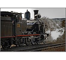 Steam Locomotive in Canberra Photographic Print