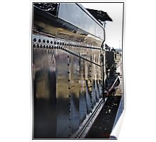 Steam locomotive in Canberra/Australia Poster