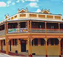 The Bowraville Hotel by wallarooimages