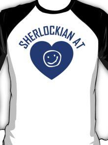 SHERLOCK FAN SHERLOCKIAN AT HEART T-Shirt