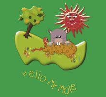 Hello Mr Mole T-shirt Baby Tee