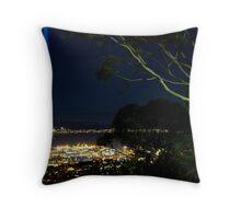 Spectra Tree - Hobart, Tasmania Throw Pillow