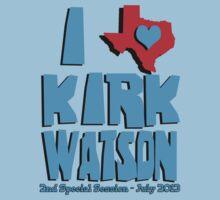 I Heart Kirk Watson Kids Clothes