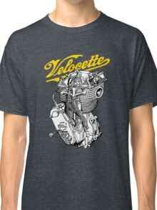 Classic British Motorcycle Engine - Velocette KTT350 Classic T-Shirt