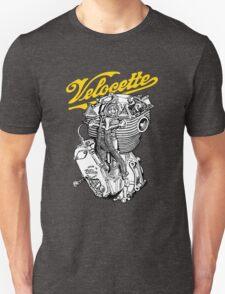 Classic British Motorcycle Engine - Velocette KTT350 Unisex T-Shirt