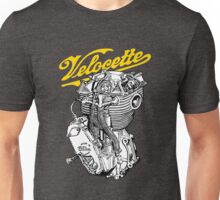 Classic British Motorcycle Engine - Velocette KTT350 Unisex T-Shirt