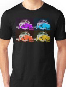 Volkswagen Camper Multi colors illustration 2 Unisex T-Shirt