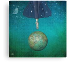 Dancing universe Canvas Print