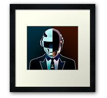 Daft Portrait (Together) Framed Print