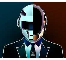 Daft Portrait (Together) Photographic Print
