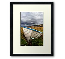 The pointy end Framed Print