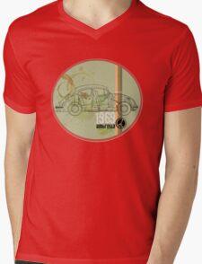 woodstock1969 in green Mens V-Neck T-Shirt