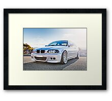 BMW 3 Series E46 - Digital Blend Framed Print