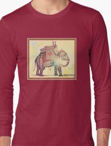 raja the elephant Long Sleeve T-Shirt