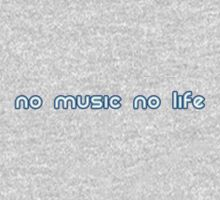 No music no life Kids Clothes