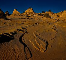 Is it a lake or is it a desert? by Chris Brunton