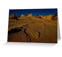 Is it a lake or is it a desert? Greeting Card