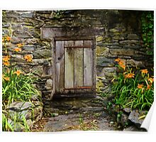 Gomez Mill House Door in the Wall Poster