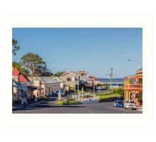 Stanley Townsite, Tasmania, Australia Art Print