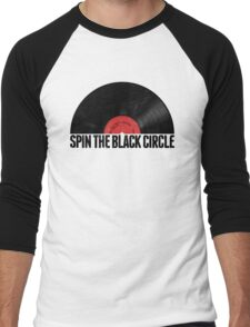 Spin The Black Circle Men's Baseball ¾ T-Shirt