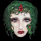 Medusa - Portrait of a Monster by HiddenCityArt