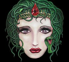Medusa - Portrait of a Monster by HiddenCityArt